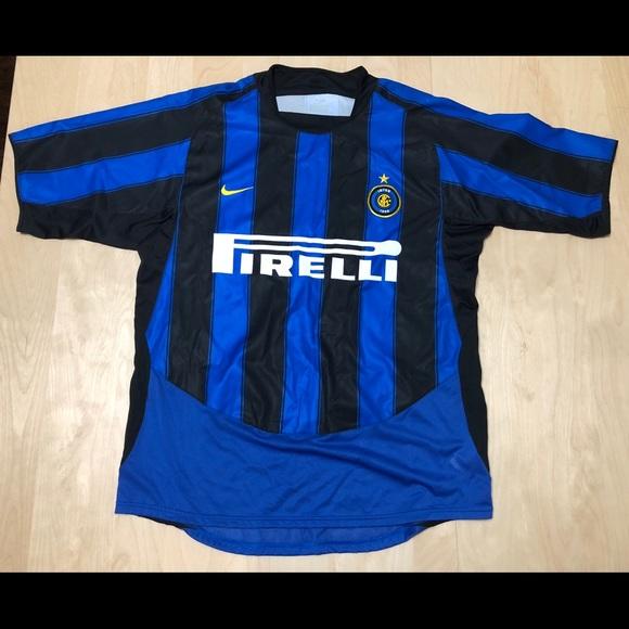hot sale online 17aaf 949ee Nike Inter Milan Pirelli Black Home Stadium Jersey
